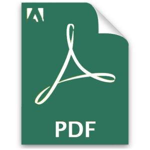 logo pdf verde