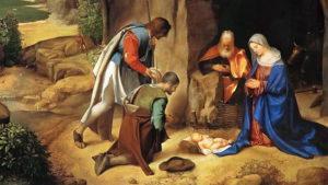 Adoration of the Shepherds by Giorgione 1508